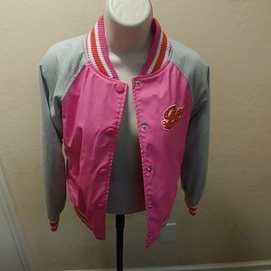 Rocawear pink and Gray Jacket